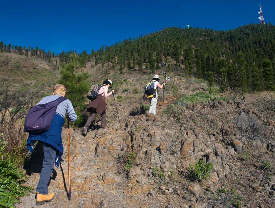 1a corsa in montagna Poleos alla Valle de Arriba (...