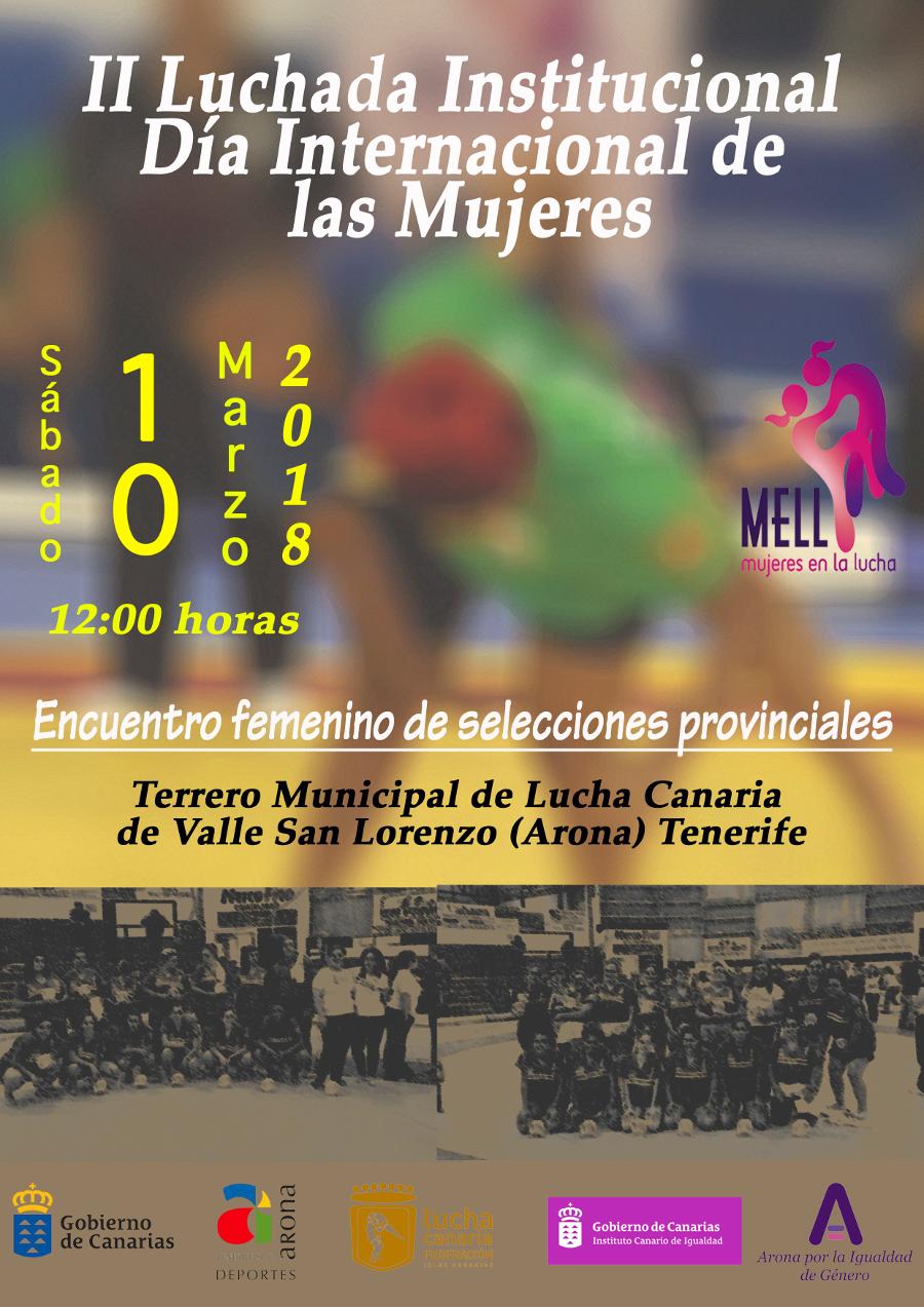II giornata internazionale della donna per la lotta istituzionale