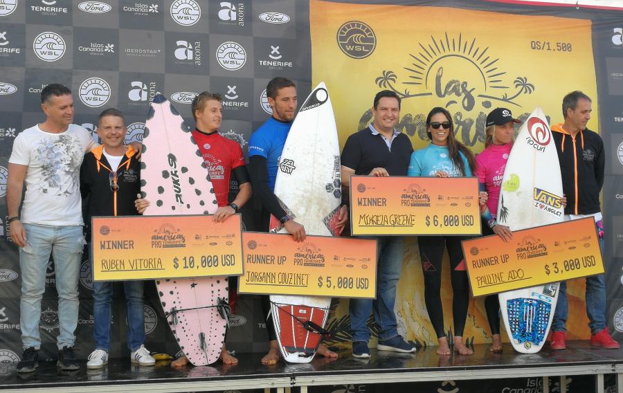 Le vittorie di Rubén Vitoria e Mikaela Greene incoronano il ...