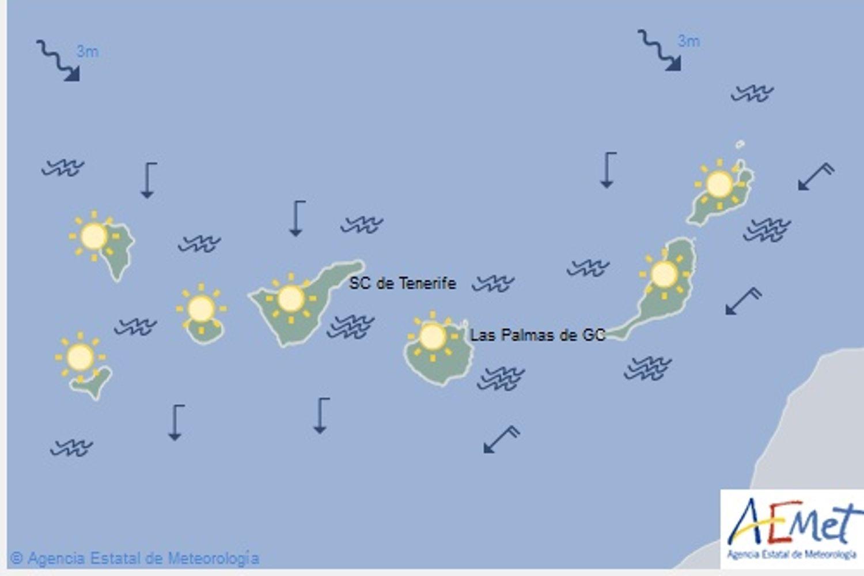 Le temperature aumentano nelle isole Canarie