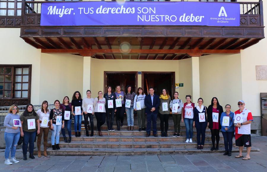 """Arona commemora l'8 marzo come """"sinonimo di lotta"""" per ..."""