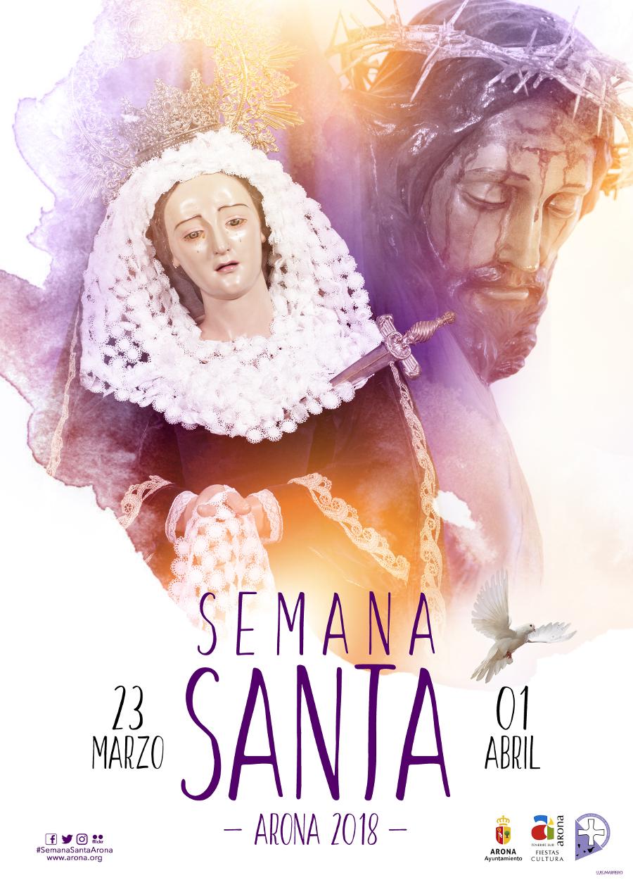 Celebrazione della Settimana Santa a Las Galletas 2018