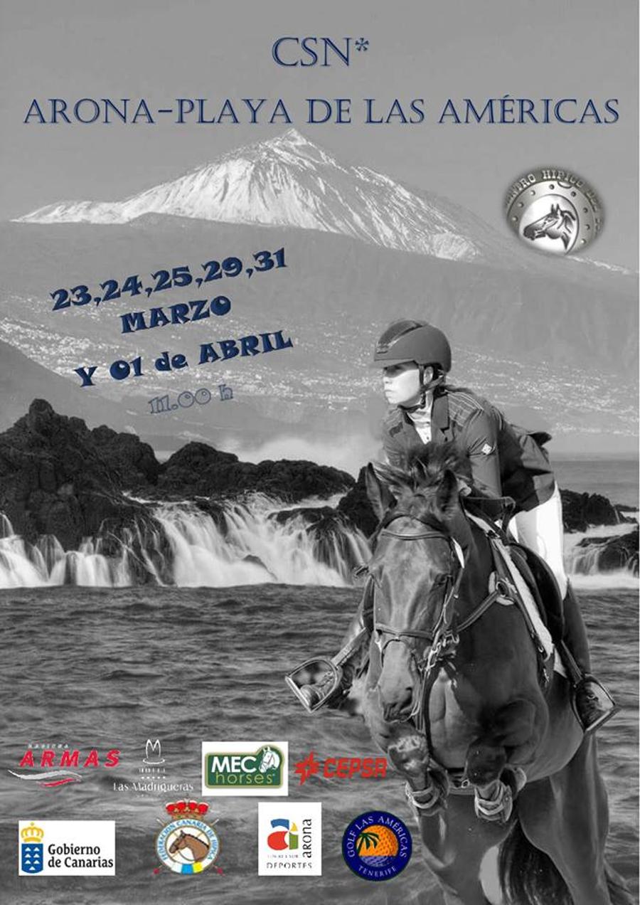 Concorso di salto ostacoli equestri Arona - Playa de Las ...