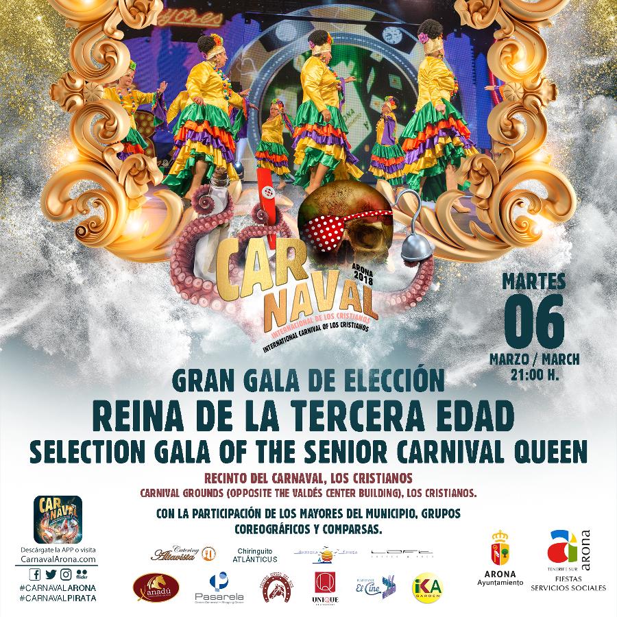 Gala della terza età del Carnevale internazionale di Los Cr ...