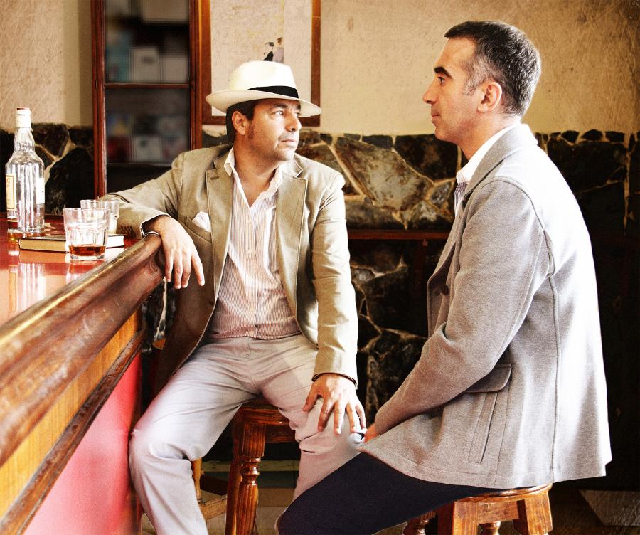Gli uomini che bevevano con Dylan Thomas. Con Andrs Molina.