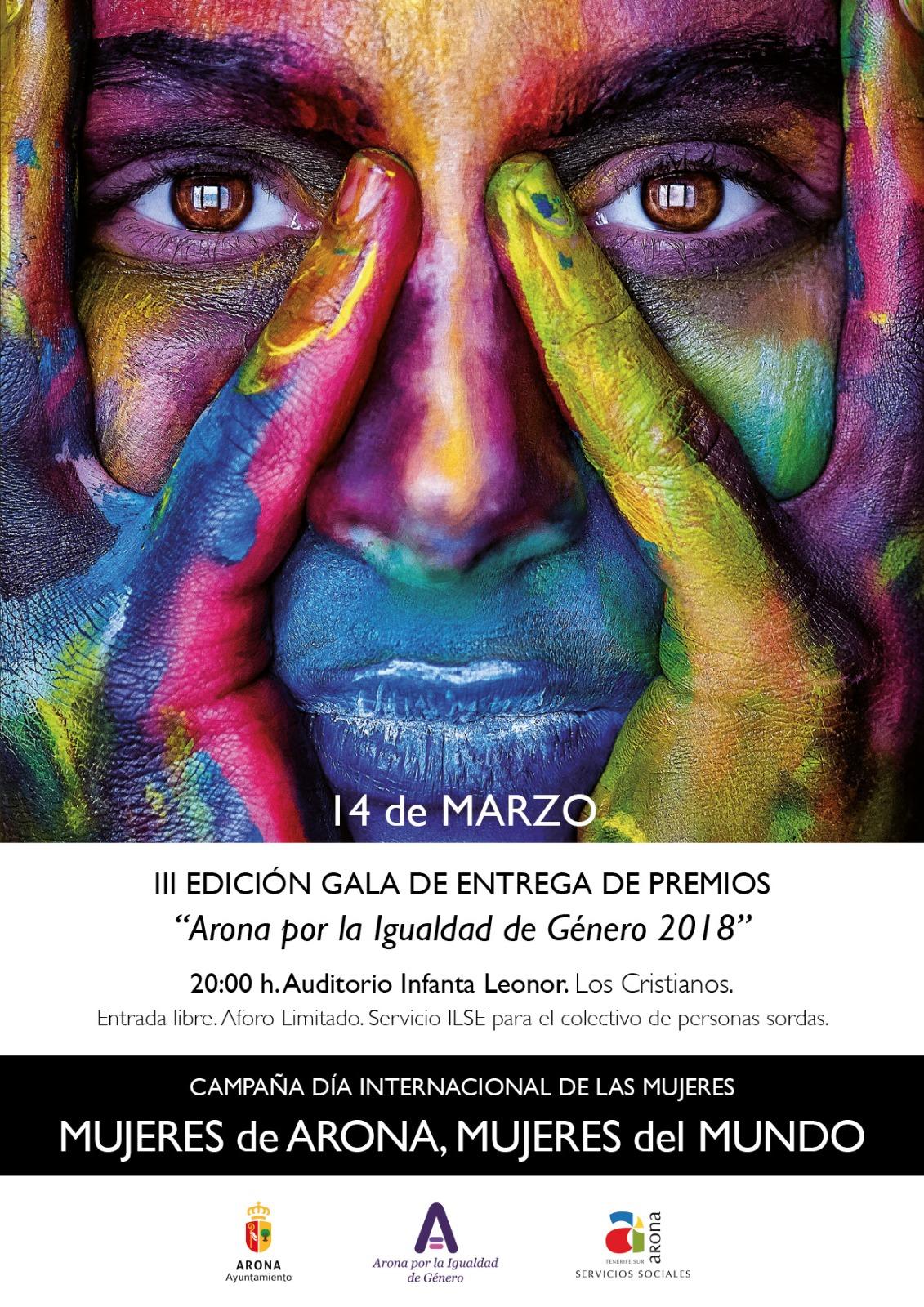 """III Edizione del Gala di Premiazione """"Arona por la Ig ..."""