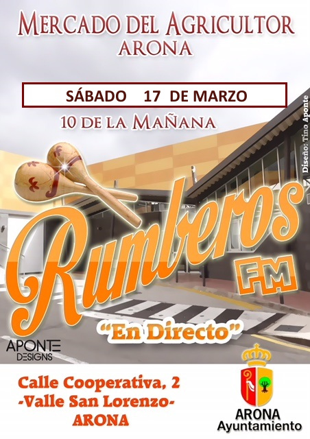 Live FM Rumberos al mercato degli agricoltori