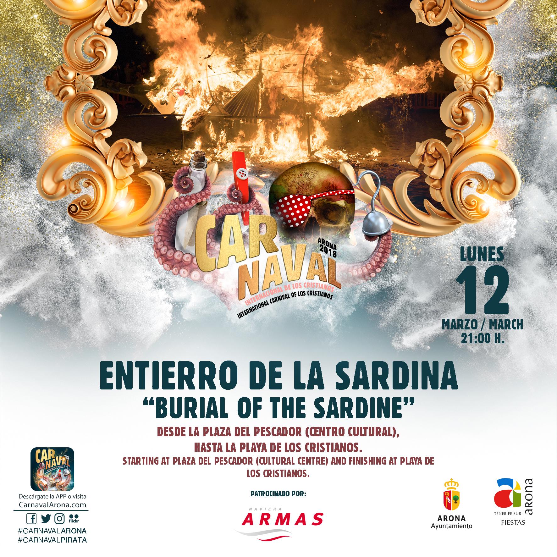 Sepoltura della Sardina del Carnevale Internazionale di Los Cri ...