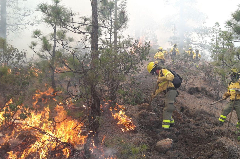 Uno sforzo straordinario per un fuoco atipico