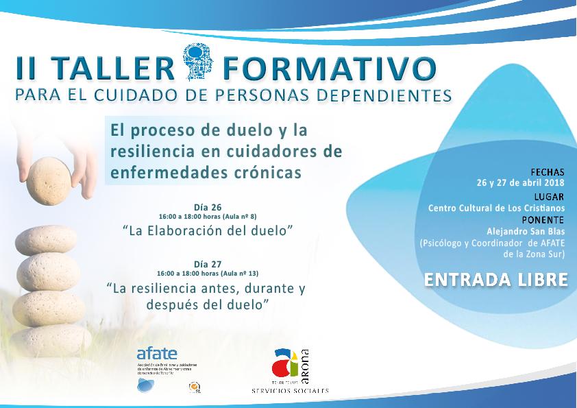 II Workshop di formazione per la cura delle persone dipendenti