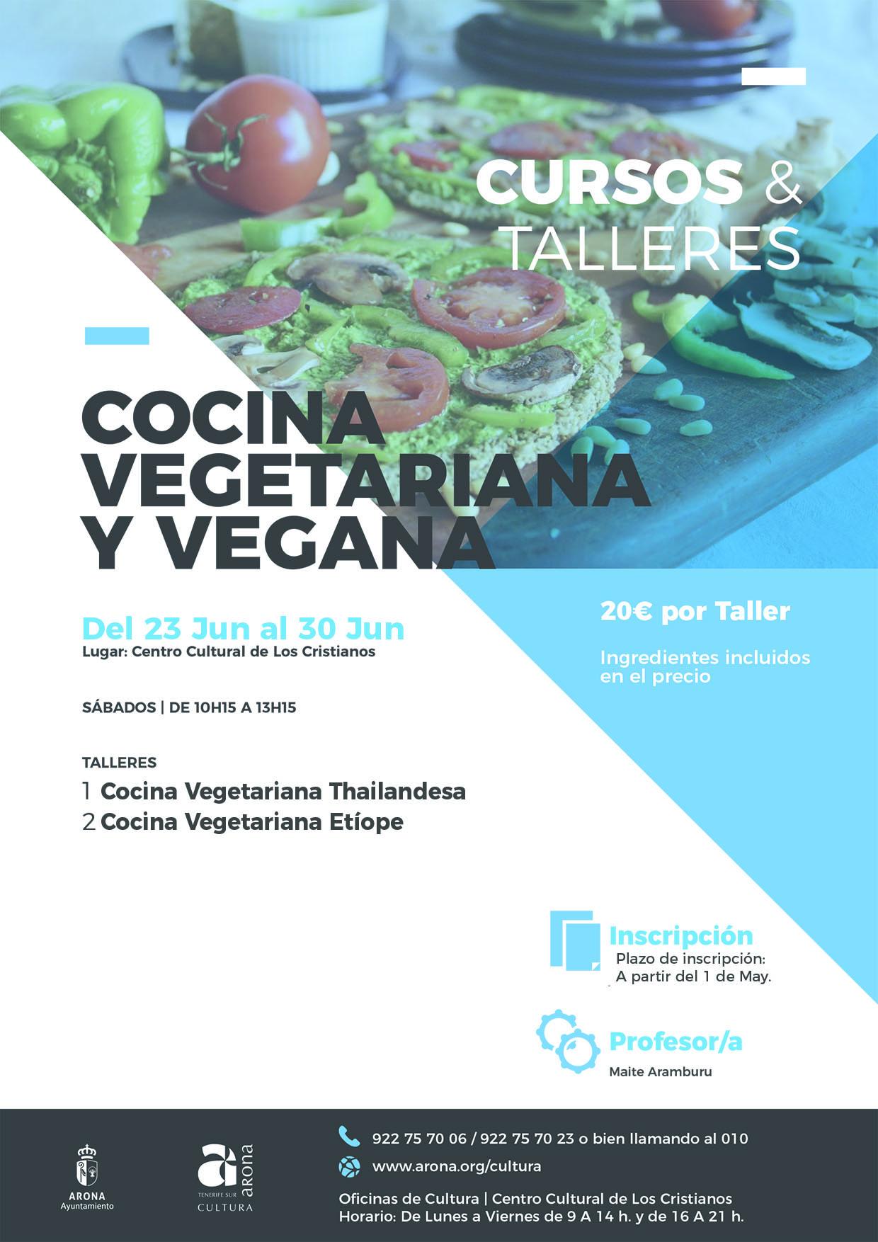 Workshop di cucina vegetariana e vegana (giugno 2018)