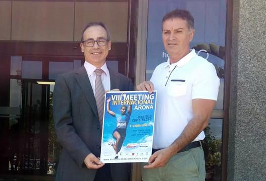 Hospiten se suma al VIII Meeting Internacional Arona de Pruebas Combinadas de Atletismo
