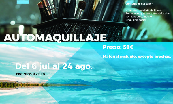 Workshop Automaquillaje (luglio - agosto 2018)