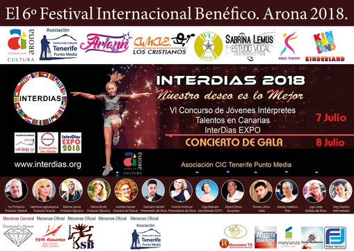 VI Edizione dell'International Beneficial Festival Inter Days ...