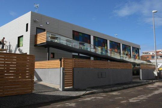 La imagen muestra las instalaciones de la Escuela Infantil de El Fraile ( ene 11)