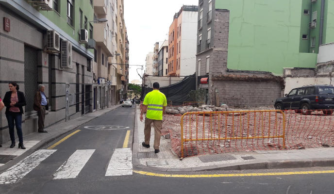 La strada di Puerta Canseco riapre al traffico