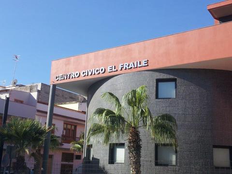 Imagen del Centro Cívico de El Fraile. Marzo 2015