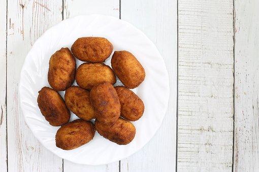 Crocchette pollo e prosciutto