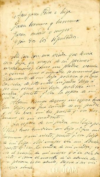 El Cabildo rescata un curioso documento sobre la descendenci...