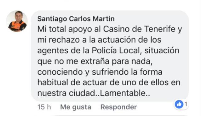 La polémica del Casino enfrenta a la Policía Local y a Prote...