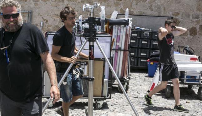 Tenerife hosts this week the simultaneous shooting of two films ...