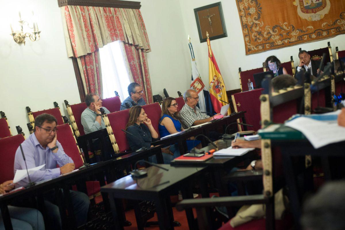 Imagen del pleno del Ayuntamiento de La Laguna / Fran Pallero