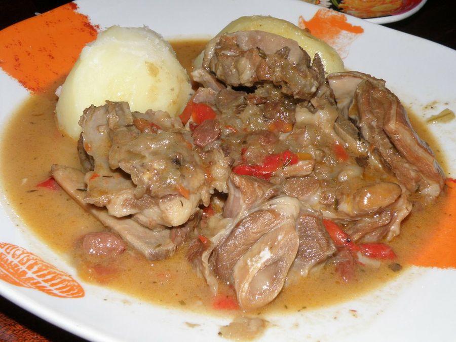 Composta di carne di capra
