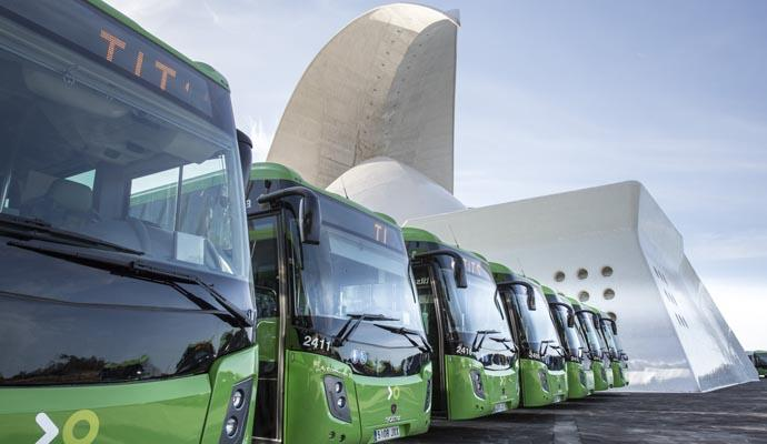 TITSA awards the purchase of 74 new buses for 16.8 million ...