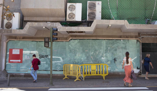 Urbanism sanctions the owners of what was the headquarters of Galerí ...