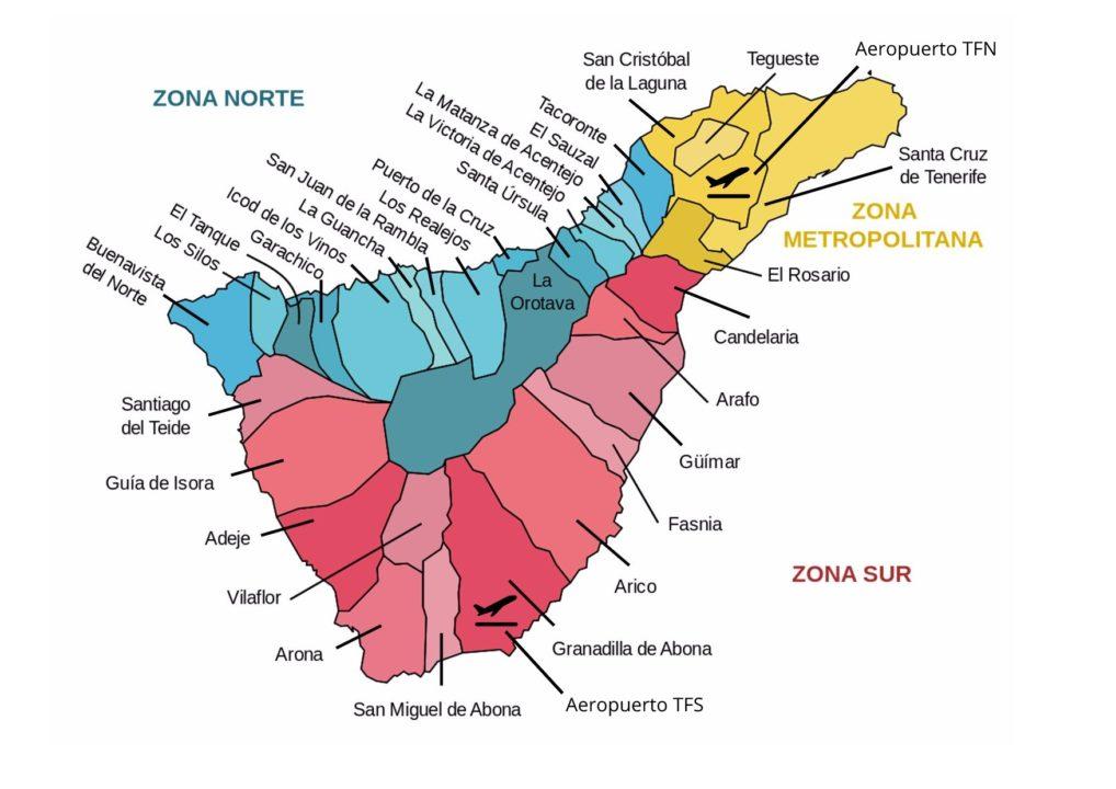 Guida di Tenerife comuni