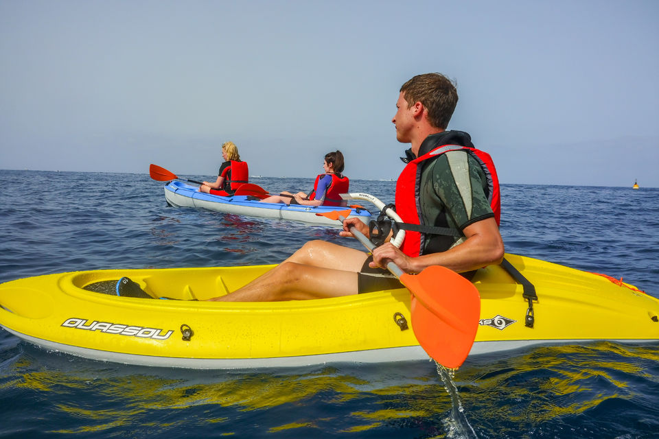 Kayak and Snorkeling