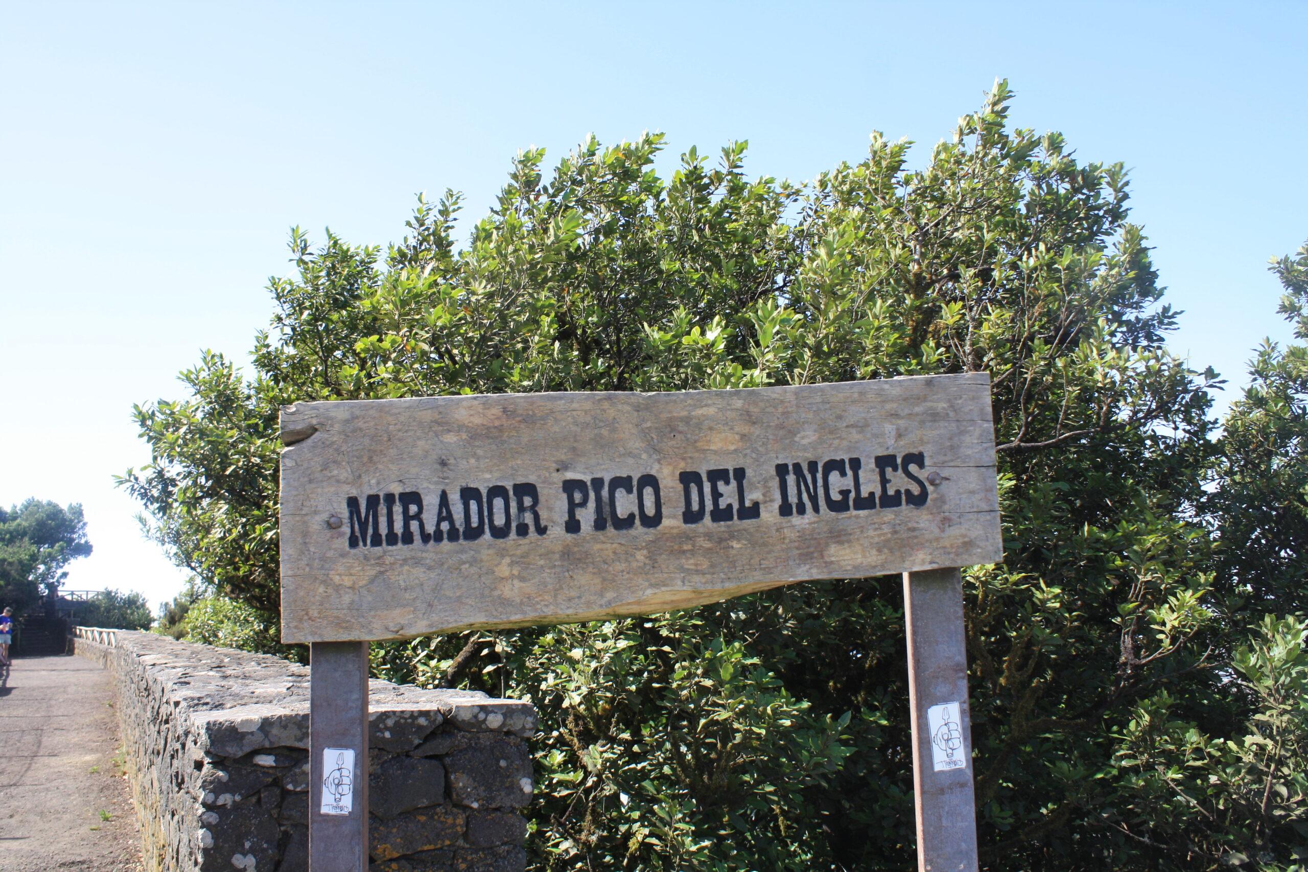 Mirador de Pico del Inglés