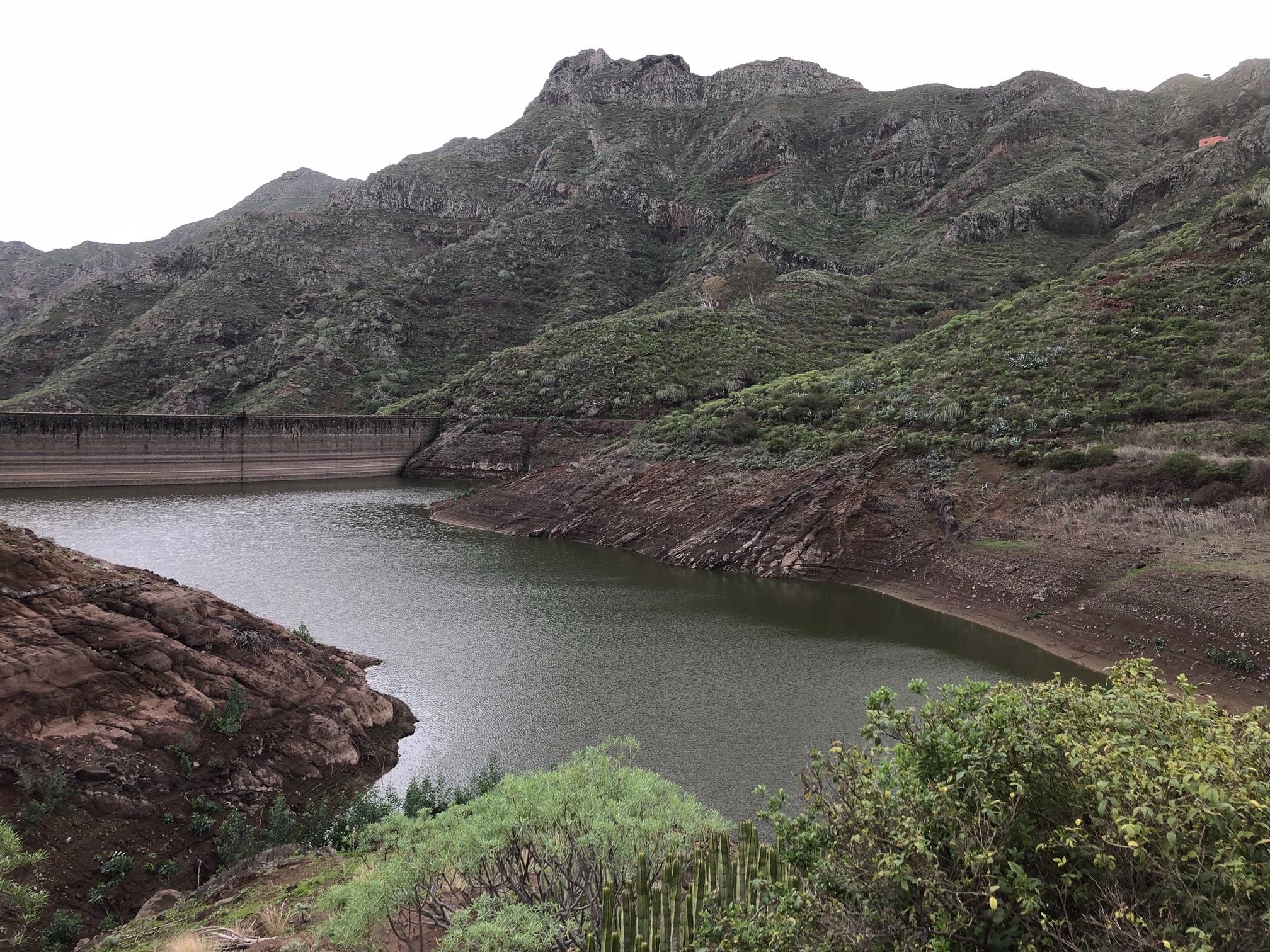 Barranco e Charca de Tahodio