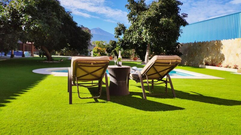 Villa piscina climatizada