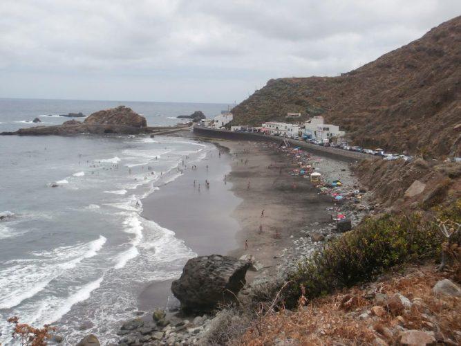 Playa del Roque de las Bodegas