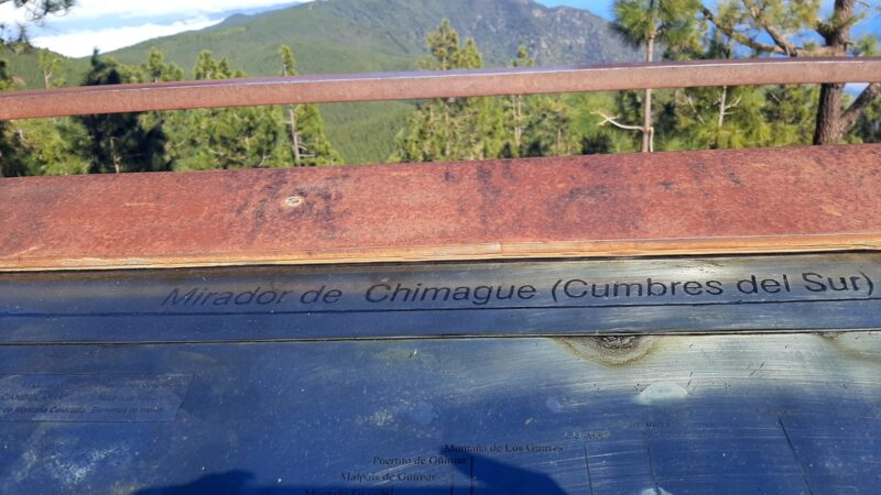 Mirador de Chimague
